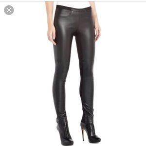 BCBGMaxAzria Textured Faux Leather Jean Legging